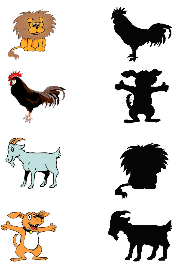 animal-shadow-match-worksheets-11