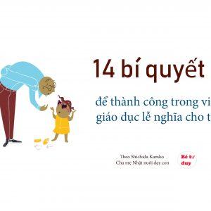 14 bí quyết nuôi dạy con về lễ nghĩa