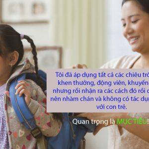 Giúp trẻ tự giác khi học tập
