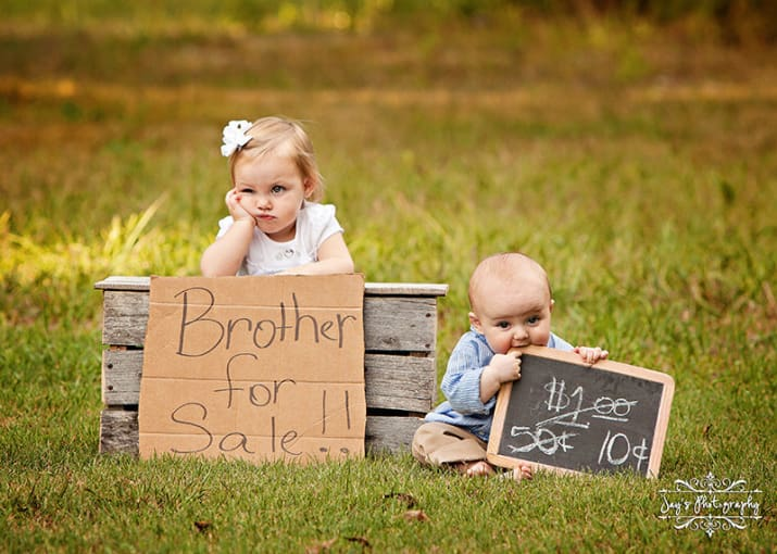 Khi trẻ có em bé 2
