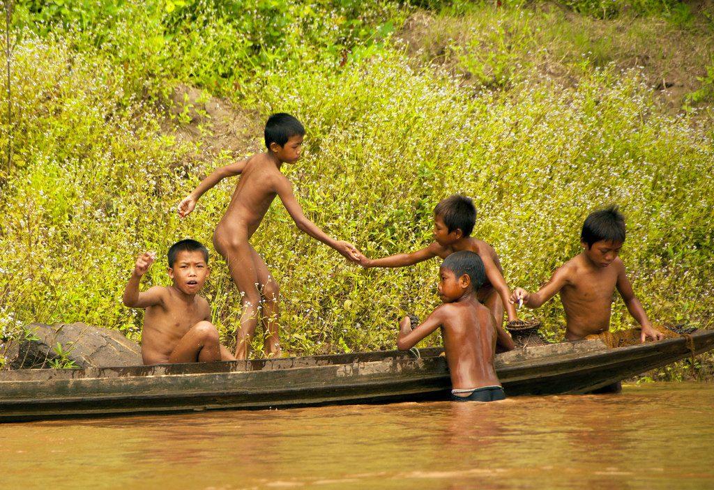 trẻ em nông thôn