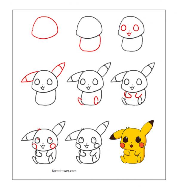 Vẽ pikachu