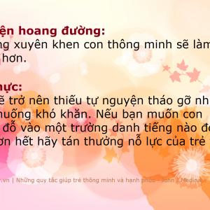 khen con thong minh