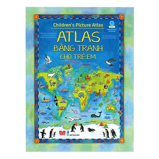Atlas bằng tranh cho trẻ em