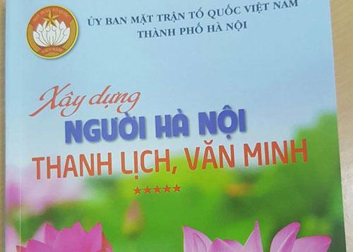 Người Hà Nội thanh lịch văn minh