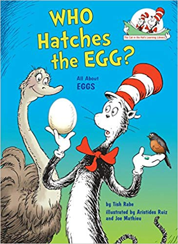The cat in the hat: Who hatches the egg?