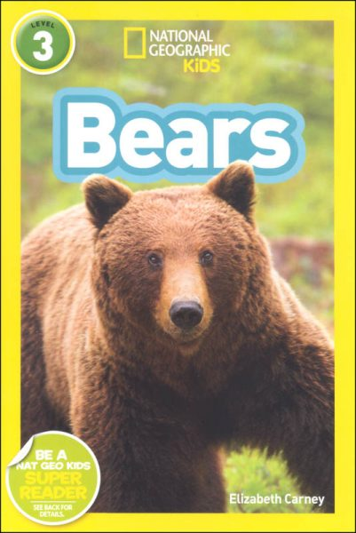 National Geographic kids: Level 3: bears
