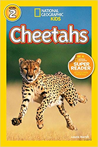 National Geographic kids: Level 2: Cheetahs
