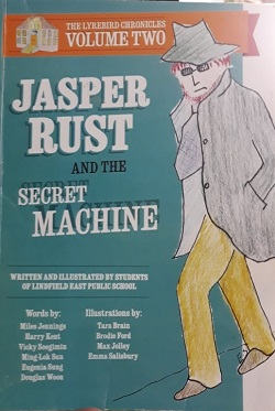 Jasper rust and the secret machine