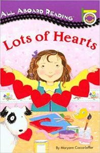 All aboard reading: Lots of hearts