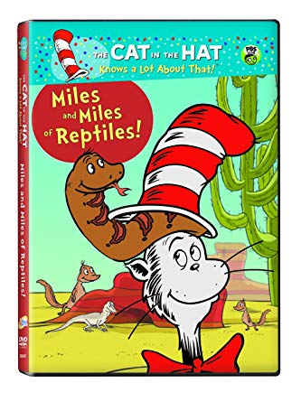 The cat in the hat: Miles and Miles of reptiles