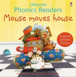 Usborne phonics readers: Mouse moves house