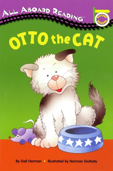 All aboard reading: Otto the cat