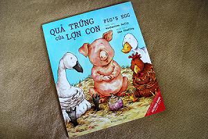 Quả trứng của lợn con