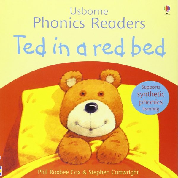 Usborne phonics readers: Ted in a red bed