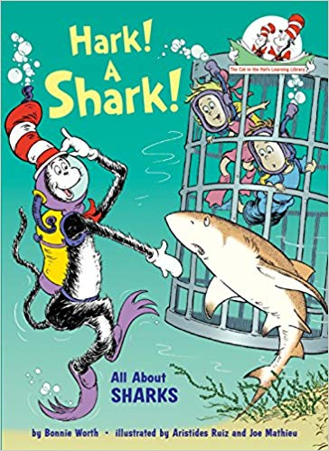 The cat in the hat: Hark a shark
