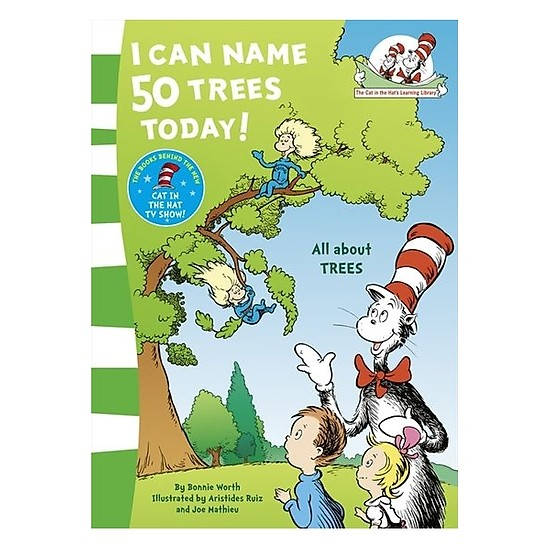 The cat in the hat: I can name 50 trees today
