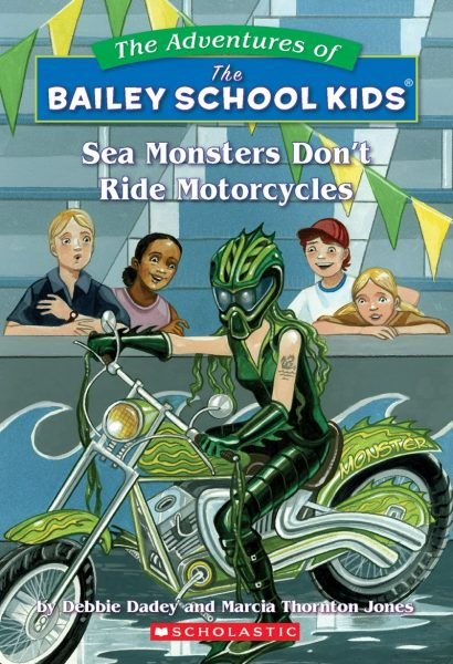 The monsters don't ride motorcycles