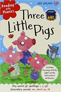 Reading with phonics: Three little pigs