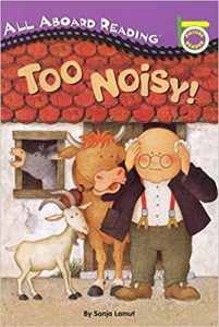 All aboard reading: Too noisy