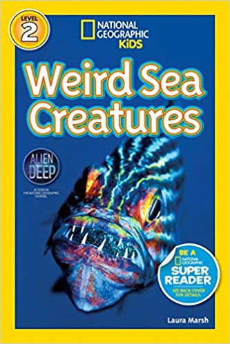 National Geographic kids: Level 2: Weird sea creatures