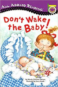 All aboard reading: Don't wake the baby
