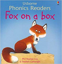 Usborne phonics readers: Fox on a box