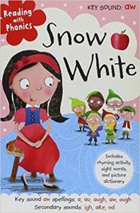 Reading with phonics: Snow white