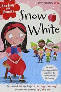 Reading with phonics: Snow white